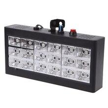 Sound Music Control 18W Rgb Led Stage Effect Lighting Dj Party Show Strobe Disco Light 220V Ac 110V (Us Plug)