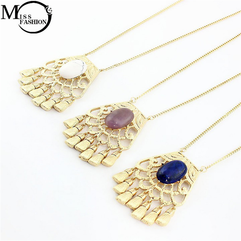 Online Get Cheap Women Indian Style Necklaces with Stones ...