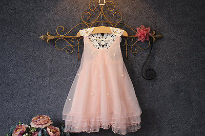 Dresses Flower Princess For