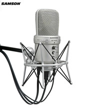 Original Samson G-track Supercardioid Usb Condenser Microphone With Built-in Audio Interface & Mixer For Broadcasters/educators