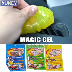 Image 2 - Car Keyboard Cleaner Glue Gel Interior Panel Air Vent Outlet Dashboard Dust Magic Cleaning Tool Laptop Sponge Mud Remover