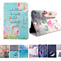 Alta Qualidade 2016 Flower Pattern Virar pu leather Inteligente Suporte Shell tampa do caso para apple ipad mini 1 mini 2 mini3 tablet caso