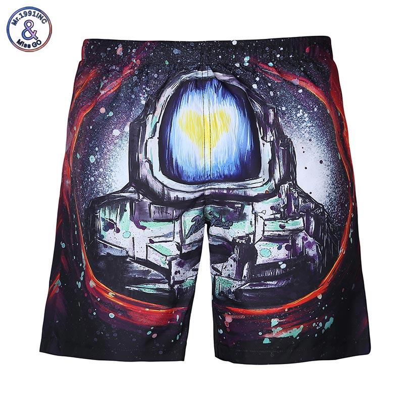 Zuversichtlich Mr.1991inc Neue Entwickelt Herren Sommer Strand Shorts Casual Schöne 3d Digital Print Meer Shorts Kurze Hosen Kaufen Sie Immer Gut