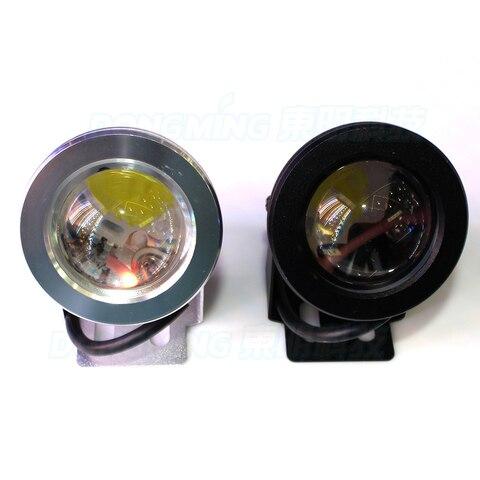 led subaquatica piscina luz convexa lente
