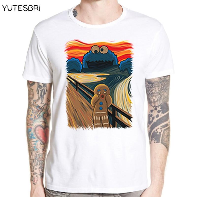 Summer Creative Design Oil Painting Batman T Shirt  Casual High Quality Brand-clothing Funny Bat Man T-Shirt Hip Hop T-shirts
