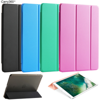 Case for New iPad 2017 9.7 inch, Carry360 Fashion Flip PU Leather Smart Cover Case Magnet Wake Sleep for Apple iPad 2017 Model