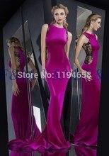 2016 neueste Einbau Sexy Lady Schöne New Fashion Lila Spitze Scoop Graceful Mermaid Lange Pageant Ereignis Abendkleider