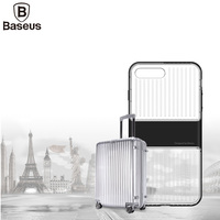 Baseus Transparent Travel Case Cover For IPhone 7 Luxury TPU PC Case For IPhone 7 Plus