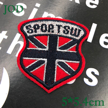 JOD 5*5.4cm SPORT SW Red Badges for Clothes Iron on Patches for Clothing Decorative Patch Applique Embroidery Stickers Fabric @ flower lace embroidery iron on stickers applique clothes patch embroidered patches for clothing rose badges fabric