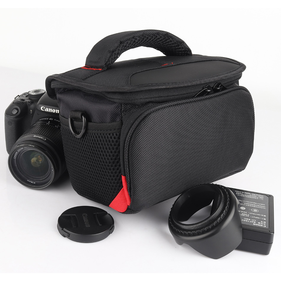 Us 16 91 30 Off Dslr Camera Bag Case For Canon Eos Rebel T7 T7i T6i T6s T6 T5i T5 T4i T3i T3 T2i T1i Xti Xsi Xt Xs Sx60 Sx50 Sx40 Sx540 Sx530 Hs In