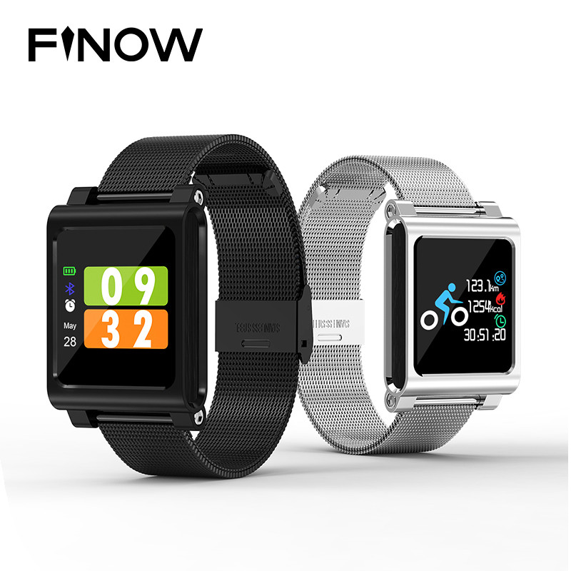 Smart Band Ip68 Waterproof Smart Watch Heart Rate Blood Pressure Monitor N88 Smartwatch Bracelet For Android Ios Xiaomi Phone Smart Watches Smart Electronics
