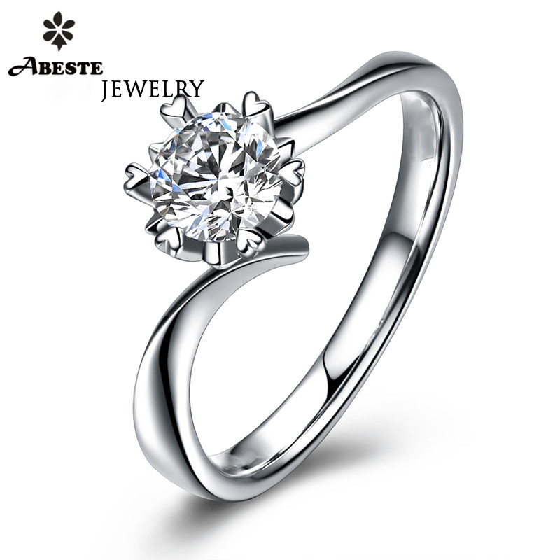 Brilliant 1.5CT Diamond 14k White Gold Over Twist Anniversary Infinity Band Ring