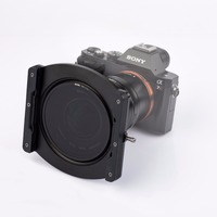 Nisi 100mm Aluminium Filter Holder for Laowa 12mm f/2.8 Lens, with CPL Filter