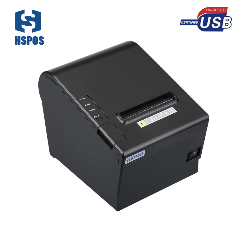 3 inch usb thermal billing printer 250mm/s with cash drawer interface easy paper loading compatible ESC/POS commands 2017 new arrived usb port thermal label printer thermal shipping address printer pos printer can print paper 40 120mm