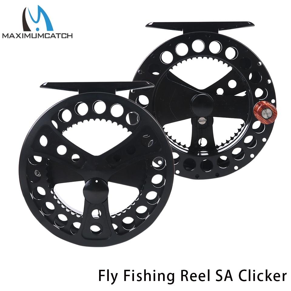 fly fishing reels sage - Maximumcatch 2-4WT SAGE Clicker Fly Fishing Reel Machine Cut Aluminum Fly Reel