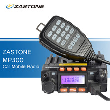 ZASTONE MP300 25W Car CB Walkie Talkie Mini Mobile Radio FM Transceiver Dual Band UHF VHF Two Way Ham Radio QYT KT-8900 Style
