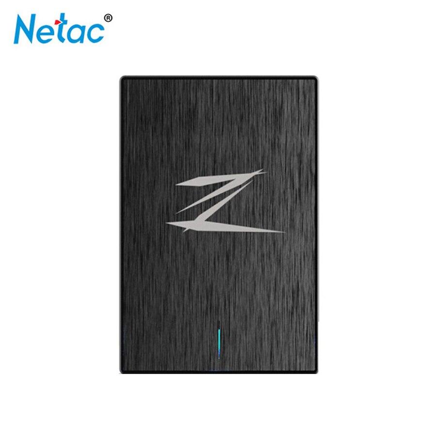 Computer & Büro Externer Speicher Netac Z1 128g 256 Gb 512g Hd Externo Tragbare Disco Dur Ssd Externe Solid State Drive Super Geschwindigkeit Usb 3.0 Cache 256 Mb Null Lärm Eine VollstäNdige Palette Von Spezifikationen