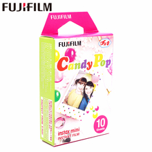 Original Fujifilm 10 sheets Instax Mini Candy Pop Instant Film photo paper for Instax Mini 8 7s 25 50s 90 9 SP-1 SP-2 Camera original fujifilm 10 sheets instax mini candy pop instant film photo paper for instax mini 8 7s 25 50s 90 9 sp 1 sp 2 camera