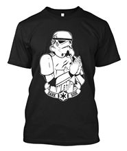 Star Wars Stormtrooper Sketch - Custom T-shirt Tee Free shipping Harajuku Tops Fashion Classic Unique стоимость