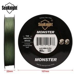 Image 3 - SeaKnight marca S9 trenza línea de pesca 300M 20 a 100LB fuerte, duradero 9 hebras suave línea de PE S espiral trenzado Tech agua salada