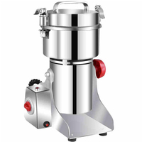 700g Stainless Steel Electric Herbal Dry Food Grinder Machine Spices Cereals Crusher Coffee Bean Grinder Mill Kitchen Grinding
