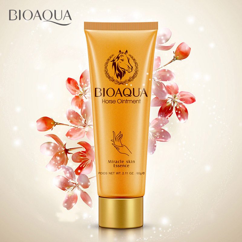 все цены на Horse Ointment Miracle Moisturizing Hand Cream Brands Anti Aging Whitening Hand Lotion Creams For Hands Bioaqua Skin Care онлайн