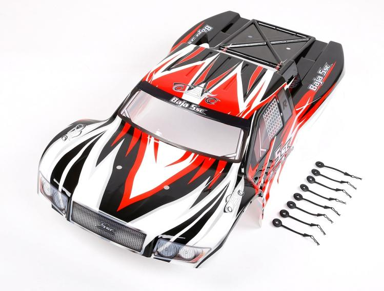 1/5 масштаб кузова для Rovan HPI Baja 5SC