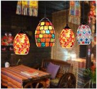 Artpad المغربي التركية نمط الرجعية خمر أسلوب زخرفة الفسيفساء شنقا مصباح قلادة e27 قاعدة المتوسط 19 أنواع