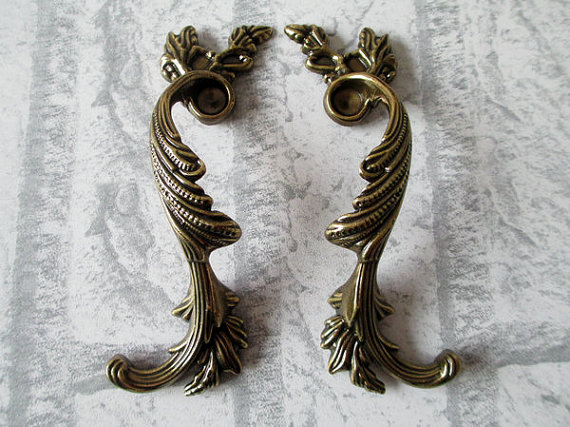 3.75 Dresser Pull Drawer Handles Cabinet Door Handle Furniture Pulls Antique Silver Bronze Shabby Chic Decorative Hardware entrance door handle solid wood pull handles pa 377 l300mm for entry front wooden doors