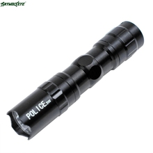 DC 12 Shining Hot Selling Drop Shipping  LED Mini Waterproof Ultra Bright Flashlight Torch Camping Hiking