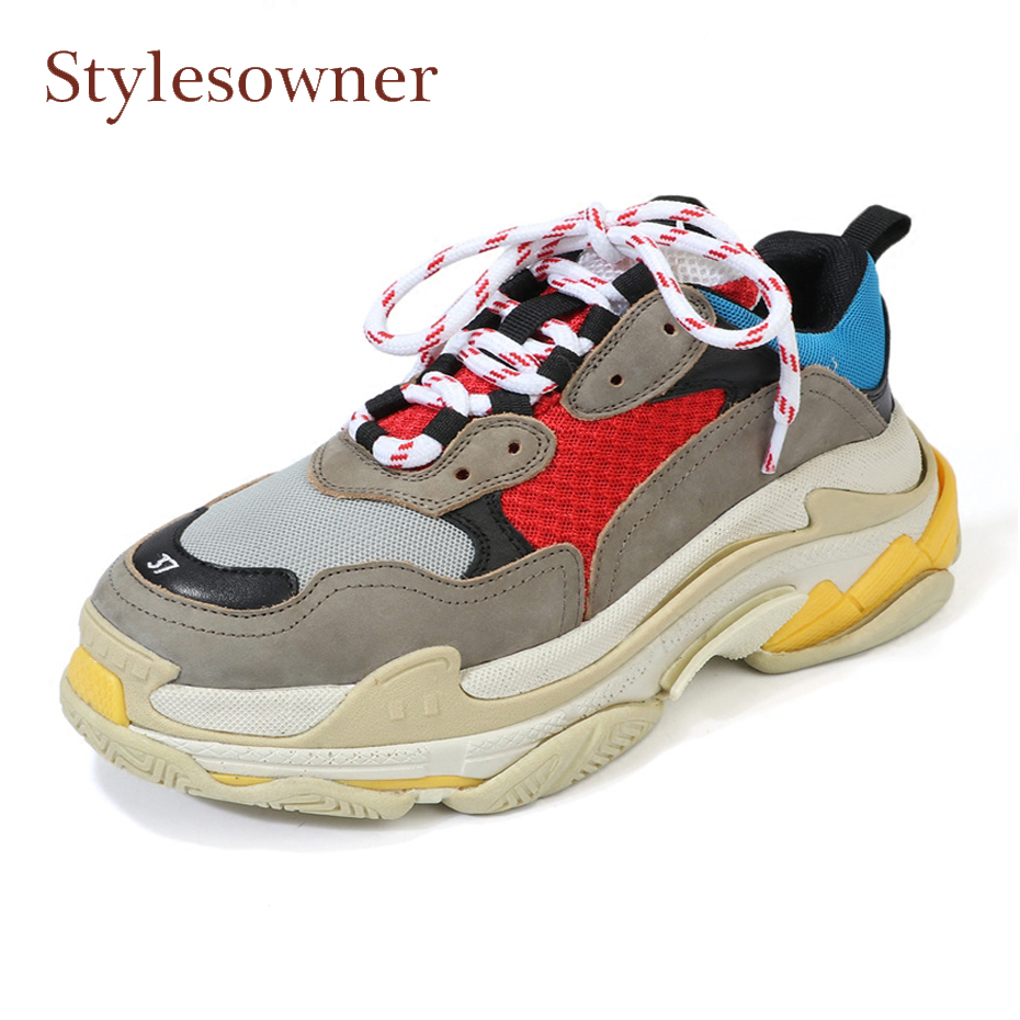 Stylesowner hot sale mixed color thick bottom women shoes lace up espadrilles chaussures feminino flat travel sneakers shoes