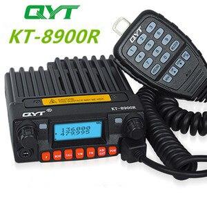 Image 1 - ثلاثي الفرقة راديو المحمول 136 174/240 260/400 480MHz جهاز إرسال واستقبال محمول صغير QYT KT 8900R