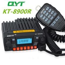 Tri band Mobiele Radio 136 174/240 260/400 480MHz Mini Mobiele Transceiver QYT KT 8900R