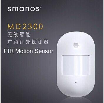 Chuango Smanos wireless PIR motion sensor with 868Mhz working with Chuango Smanos series Alarm system 315mhz chuango wireless curtain pir motion detector chuango pir 800 for home dhl free shipping