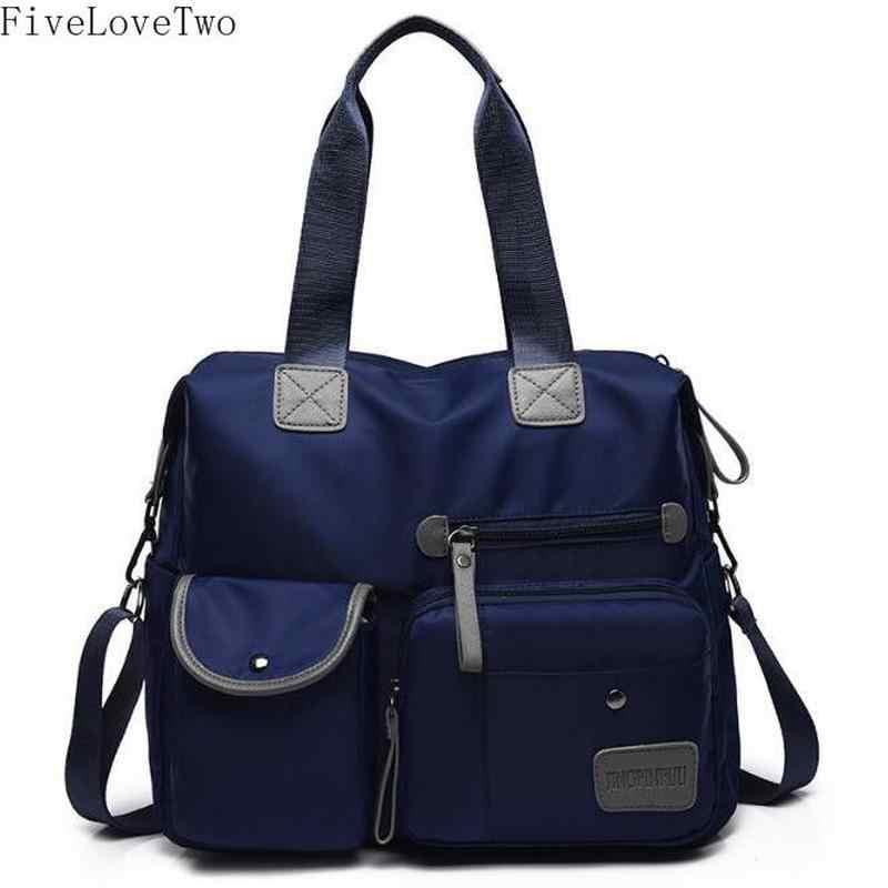a1ef3c2ac860 FiveLoveTwo Casual Crossbody bag Yogodlns Nylon Cloth Waterproof Canvas  Shoulder Bags Purses And Handbags