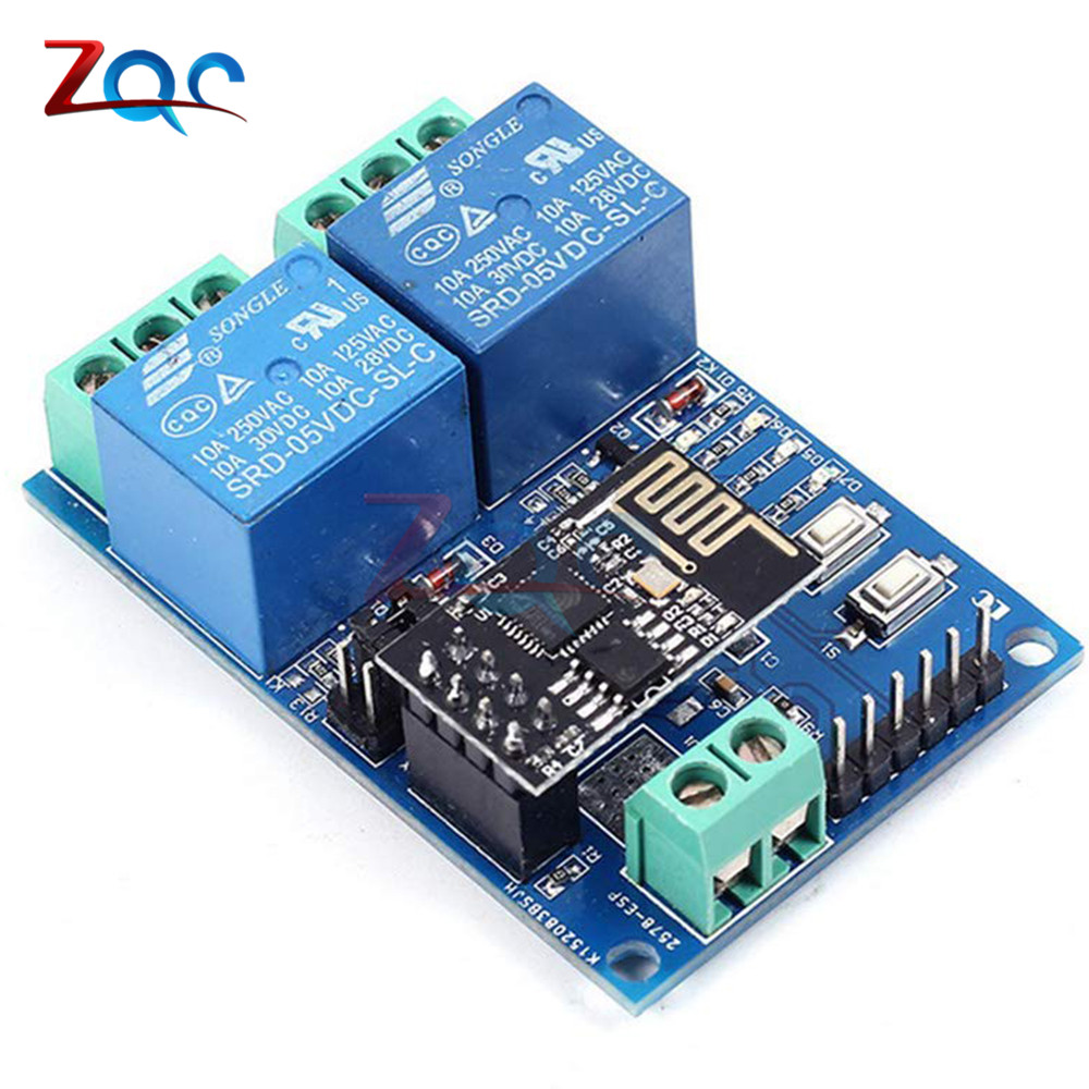 Sonoff Wifi Wireless Smart Switch Relay Module Dc 5v For Home Automations Gt Circuits Rf 433mhz 3 Channels Remote Control 5 V Esp8266 Esp 01 2 Canali Modulo Rel Channel