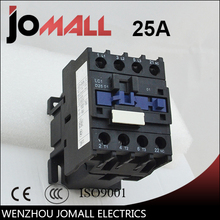 LC1-D25 25 amp black shell three phase four wires AC electrical Contactor original ac contactor lc1 d25 25a ac220v lc1d25