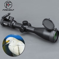 FIRE WOLF New 4 20x50 SF Riflescopes Rifle Scope Hunting Scope w/ Mounts