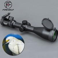 FIRE WOLF New 4 20x50 SF Riflescopes Rifle Scope Hunting Scope w/ Mounts