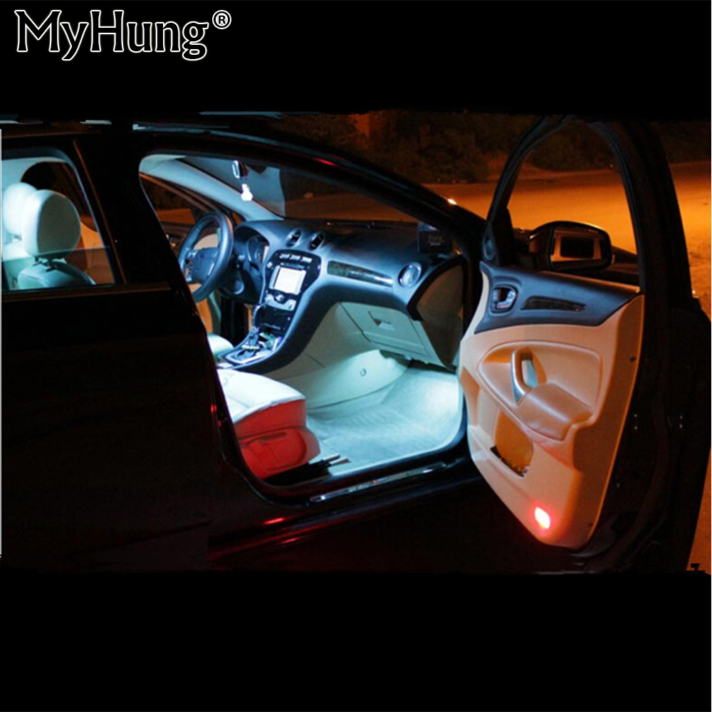For Ford Mondeo Mk4 Mk Iv Canbus Car Led Lamp 12v Interior Light Kit Package Car Styling 12pcs