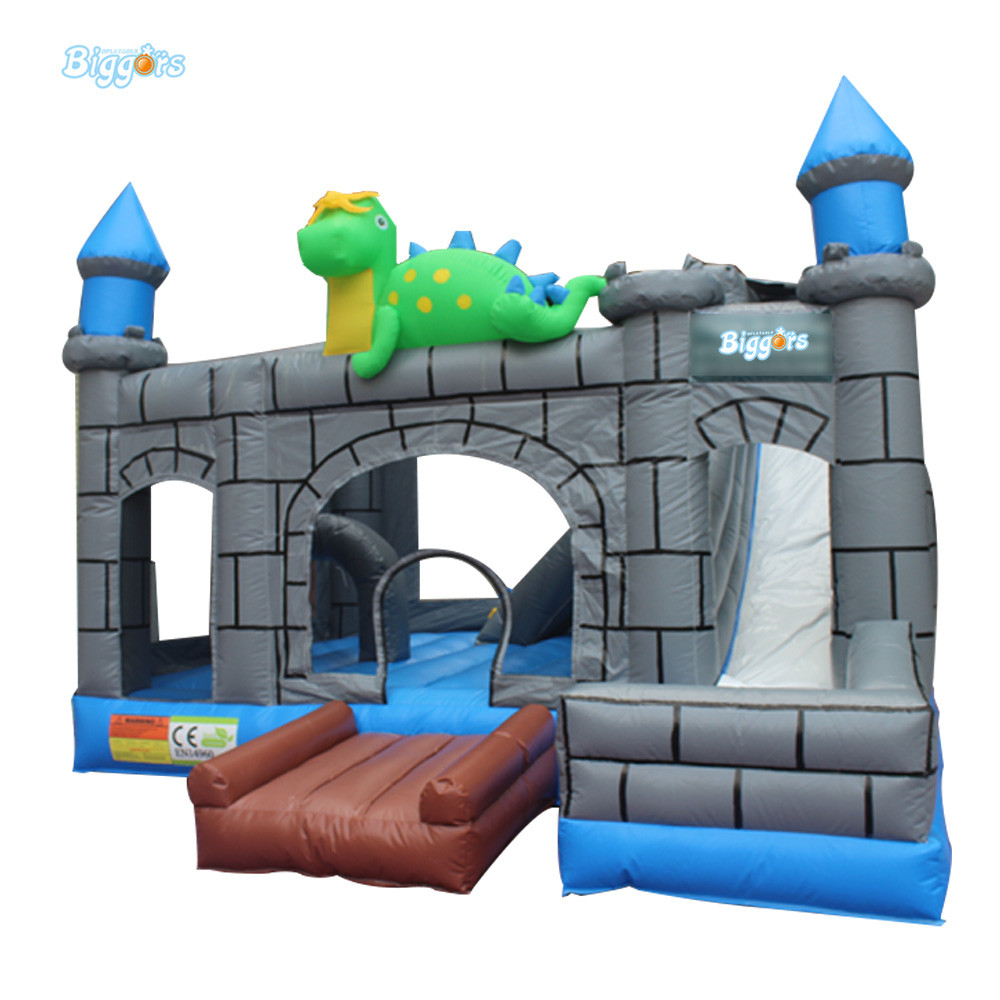 High Quality Customized Inflatable Bouncer Jumping Castle Bounce House Slide With Blowers