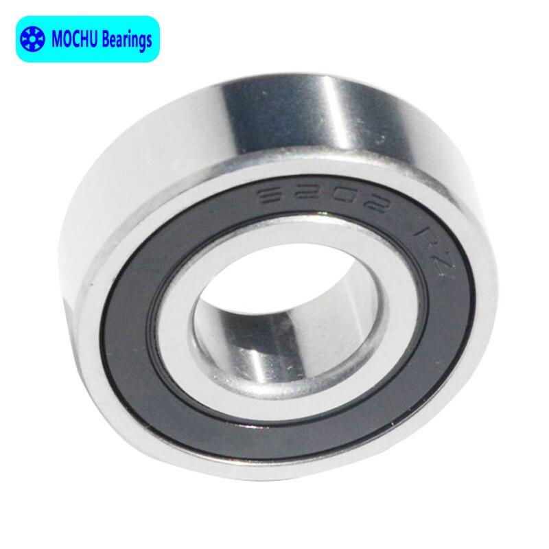 10pcs 6202-2RS SKF Ball Bearing 6202 2rs 15x35x11 mm deep groove ball bearing