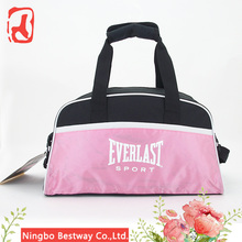 Small size carry on polyster travel tote luggage women's portable weekender Duffle Bag