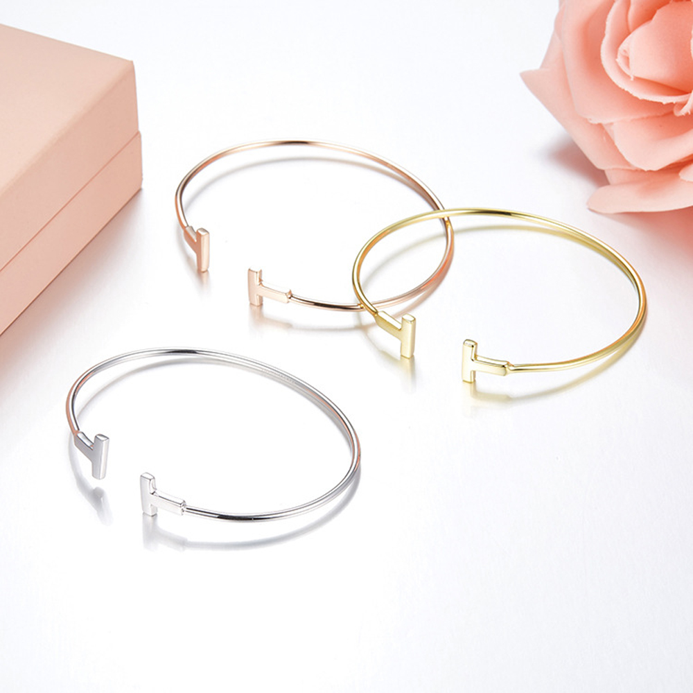 Carter Love Bracelet Bangles 925 sterling silver Luxury Classic T Bracelets Screwdriver Pulseiras love Screw cuff Bangle women