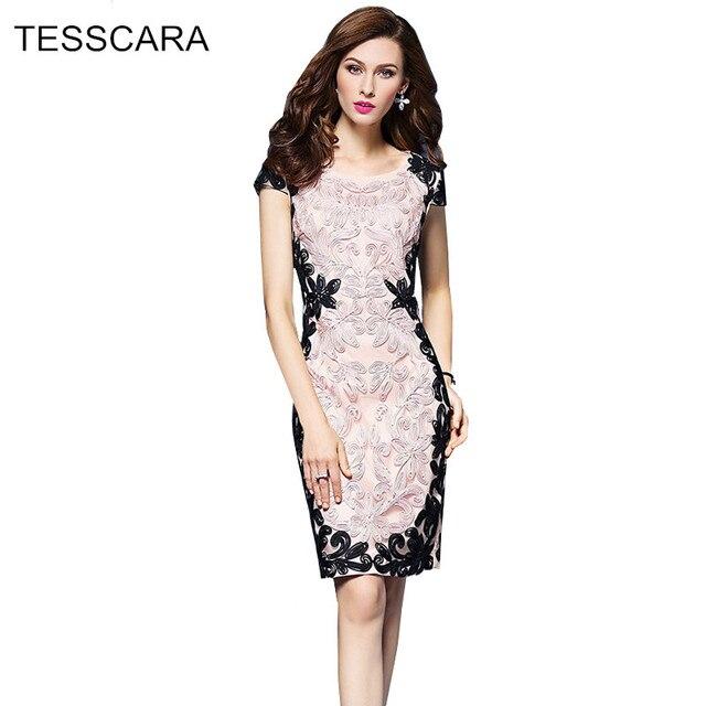 21eca7695aca Donne estate elegante dress femminile breve abiti matita ufficio matita  vestidos retro veste femme abbigliamento da
