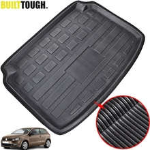 Fit For VW Volkswagen Polo Hatchback 2010 2017 Rear Trunk Boot Liner Cargo Mat Tray Floor Carpet 2011 2012 2013 2014 2015 2016