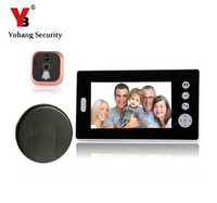 YobangSecurity 2.4G 7 LCD Wireless Video Door Phone Doorbell Peephole Viewer Door Camera Home Security Kit 1 camera 1 Monitor