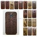 Здоровый Bamboo Традиционной Лазерной Дерево Твердый Переплет Деревянный Case Cover For Samsung Galaxy S4 MINI S5 I9600 Neo S7 S6 Край Плюс Примечание 5