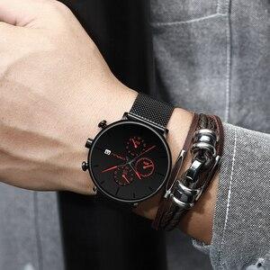 Image 4 - CRRJU Men Watch Reloj Hombre 2019 Mens Watches Top Brand Luxury Quartz Watch Big Dial Sport Waterproof Relogio Masculino Saat