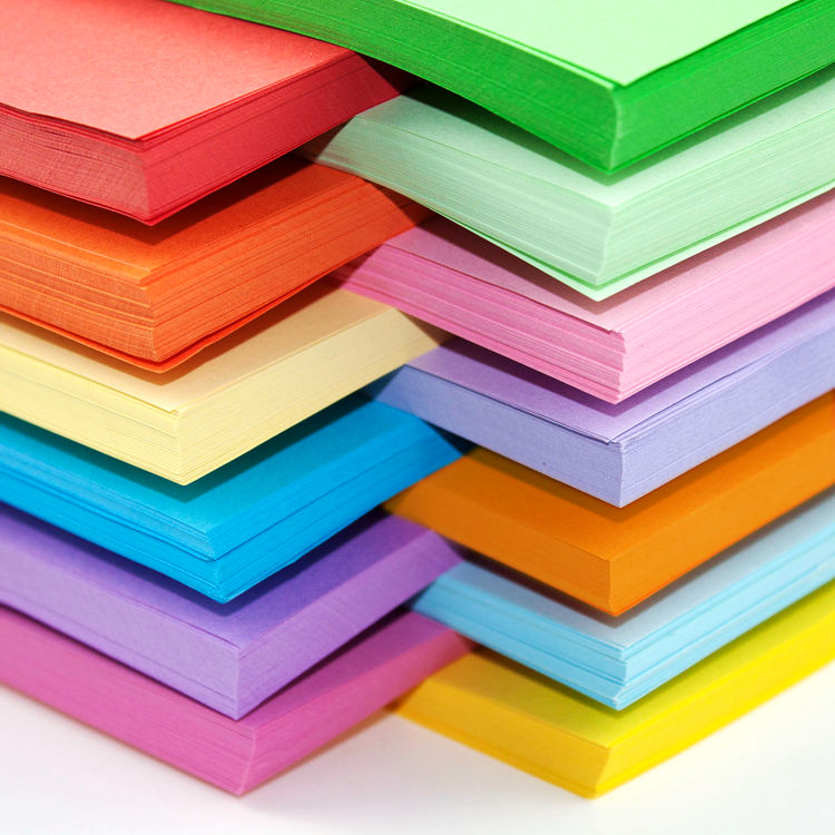 все цены на Free shipping 100pcs/lot 80g  A4 color copy printing paper color origami paper office paper 10 colors available онлайн